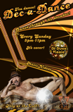 Join Disco Vinnie in the Sunday Tea Dance Dec-a-Dance every sunday at the Cuff in Seattle
